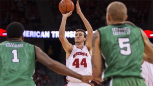 NCAA Basketball 2013: North Dakota vs Wisconsin NOV 19