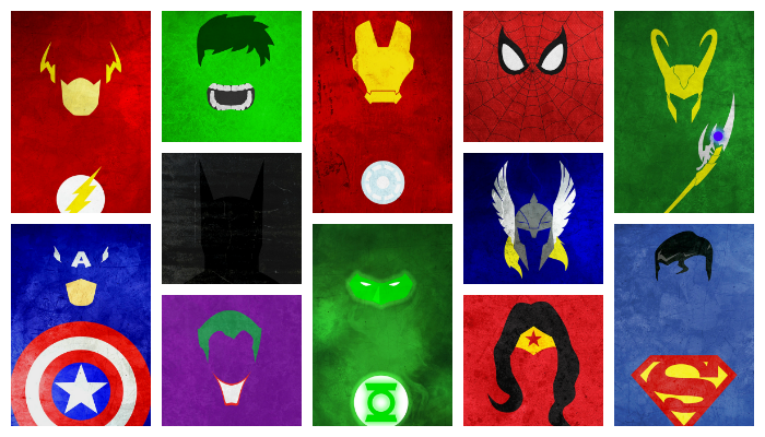 SuperHeroes Portrait