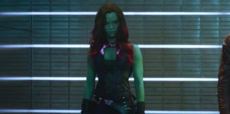 Gamora from Guardians