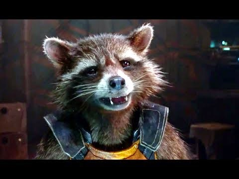 Rocket from Guardians