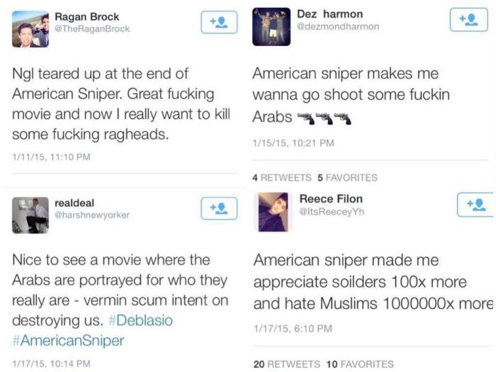 American Sniper reaction
